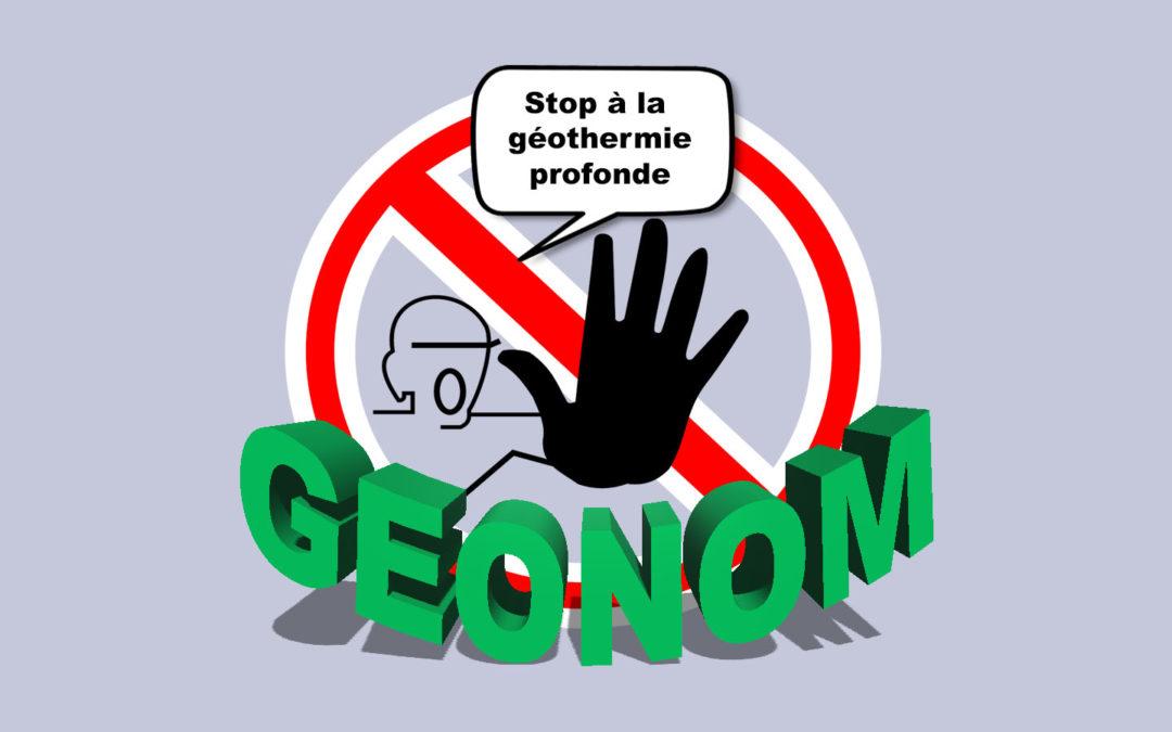 Géothermie GEONOM